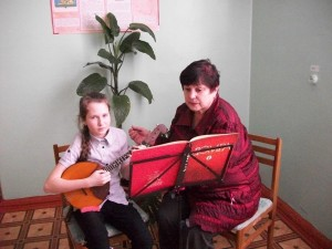 Prepodavatel' po klassu gitary Vyskvorkina Lyudmila Vladimirovna