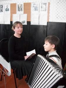 Zaveduyushchaya otedelniem, Prepodavatel' po klassu akkrdeona Elamkova Irinv Viktorovna