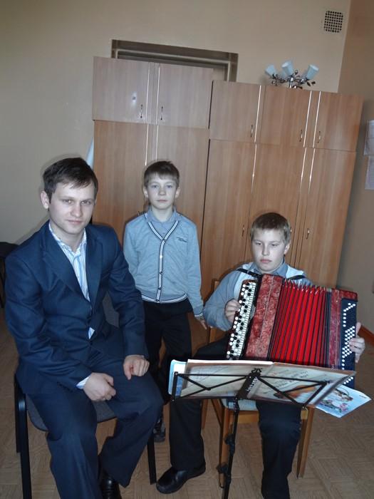 Direktor DShI, Prepodavatel' po klassu bayana Serikov Aleksandr Aleksandrovich