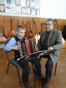 Prepodavatel' po klassu bayana Klyuchnikov Aleksandr Ivanovich